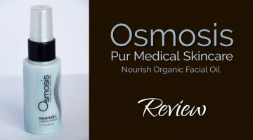 Osmosis Pur Medical Skincare, Nourish Organic Facial Oil Review