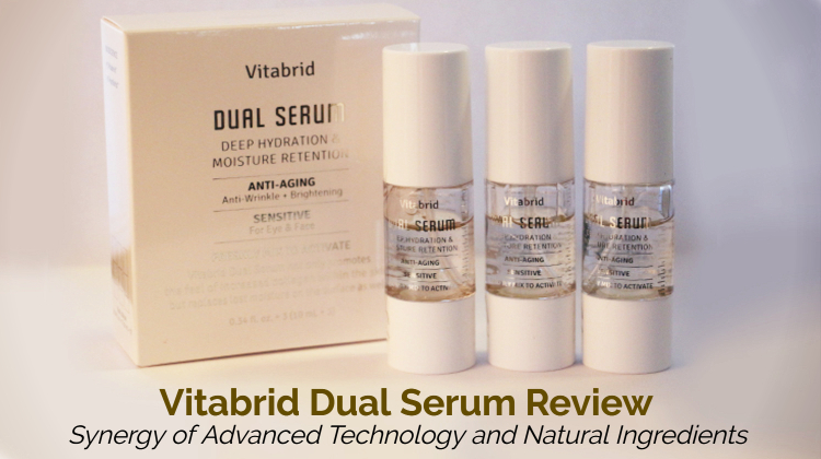 Vitabrid Dual Serum Review – Synergy of Advanced Technology and Natural Ingredients