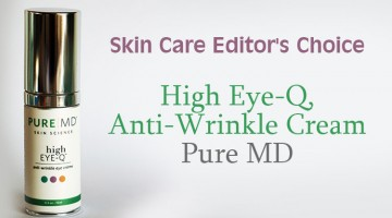 Skin Care Editor's Choice  – High Eye-Q, Anti-Wrinkle Cream